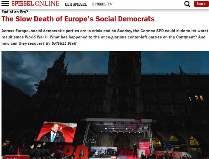 der spiegel su SPD elezioni